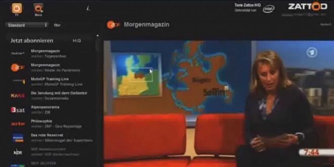 Computer-Tipps: kostenlos fernsehen am Computer mit Zattoo!