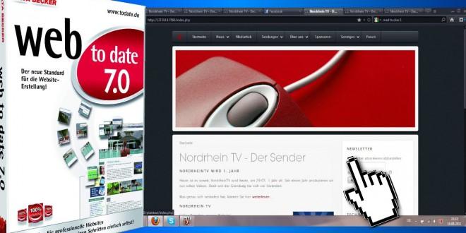Einfach Websites erstellen mit Web to date 7