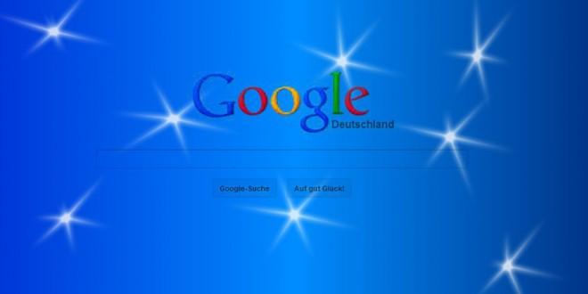 Schnee bei Google&Youtube