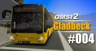 OMSI 2 Projekt Gladbeck 2016 Citaro 2 #004 – STAU in Essen!