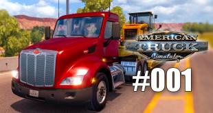 American Truck Simulator #001 – Ab auf den Highway! Gameplay ATS deutsch
