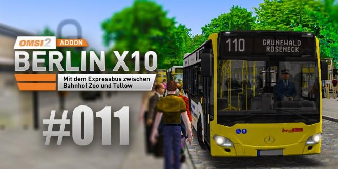 OMSI 2 Berlin X10-Addon #011 – Am Roseneck