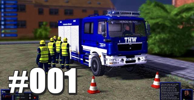 THW-Simulator 2012 #001 – Munteres Bäume schieben