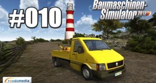 Baumaschinen-Simulator #010 – Nochmal rumgurken …
