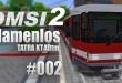 OMSI 2 Straßenbahnmap Namenlos mit der Tatra KT4Dtm #002 – Angekommen an der Wendeanlage