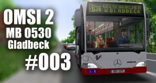 OMSI 2 mit dem MB O530 durch Gladbeck Linie SB36 #003