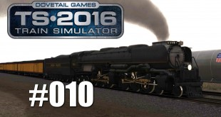 Train Simulator 2016 – Mit der Challenger in den USA #010 | Mit Trainsalp