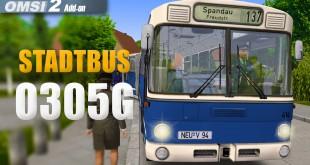 OMSI 2: Stadtbus O305G #1 – Mit dem alten Citybus durch Berlin!