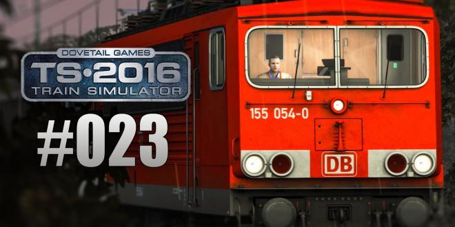 Train Simulator 2016 -Unterwegs mit der BR 155 #23 – Güterzug nach Köln-Eifeltor!