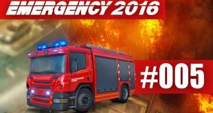 EMERGENCY 2016 #005 – Großeinsatz: Die Stadt brennt!