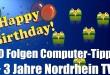 Computer-Tipps – 50 Folgen Computer-Tipps und 3 Jahre Nordrhein TV!!!!!