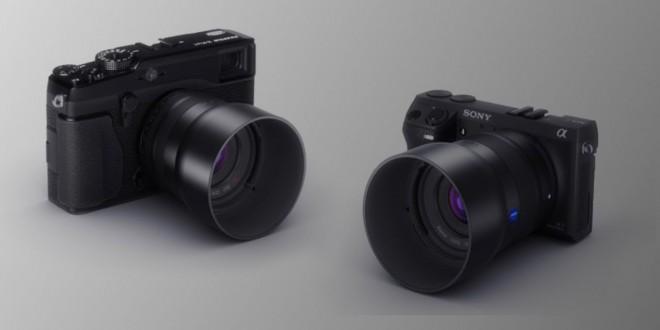 Neue Zeiss-Objektivfamilie für NEX und Fuji