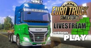 Euro Truck Simulator 2 Multiplayer-Stream I nordrheintvplay