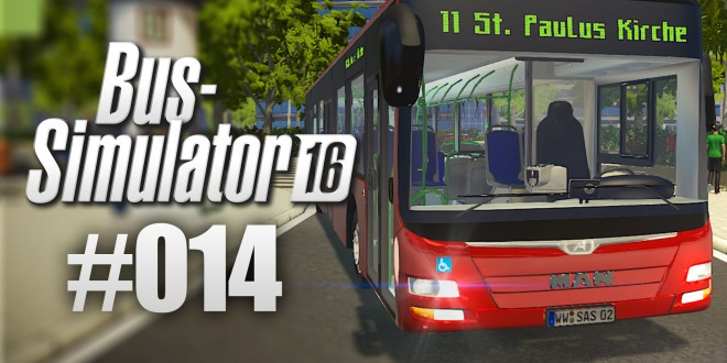 BUS-SIMULATOR 16 #14 – Mit Werbung zum Erfolg | Let's Play Bus Simulator 2016 deutsch HD