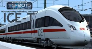 Train Simulator 2015: ICE-T München-Pasing – Weilheim (Oberbayern) #1