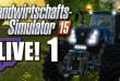 Landwirtschafts-Simulator 15 Livestream mit John Mayers und nordrheintvplay – 1 / 6