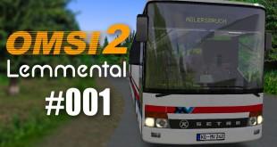 OMSI 2: Mit dem Setra 319 UL durch Lemmental #001 – Schaltprobleme!