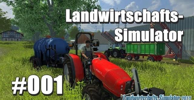 Simulatoren – Landwirtschafts-Simulator 2013 #001 – Das Chaos herrscht!