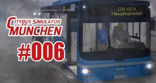 City Bus Simulator München #006 – Fahrt durch den Schneesturm!