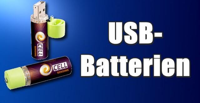 USB-Batterien und andere Gadgets