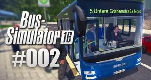 Bus-Simulator 16 #02 – Zeitdruck auf der Bus-Linie!  I Let's Play Bus-Simulator 2016 deutsch HD