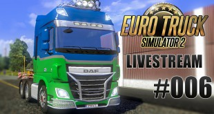 ETS 2 Mulitplayer LIVESTREAM (1.5.2015) #006 – Absturz = Jackpot!