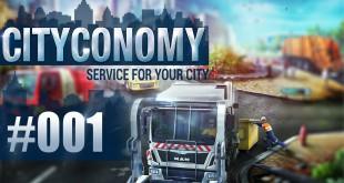 CITYCONOMY – Service for your City Stadtsimulator #001 – Start mit der Müllabfuhr