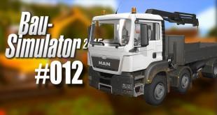 Bau-Simulator 2015#012 – Übungslehrgang mit dem Pritschenwagen mit Kran…