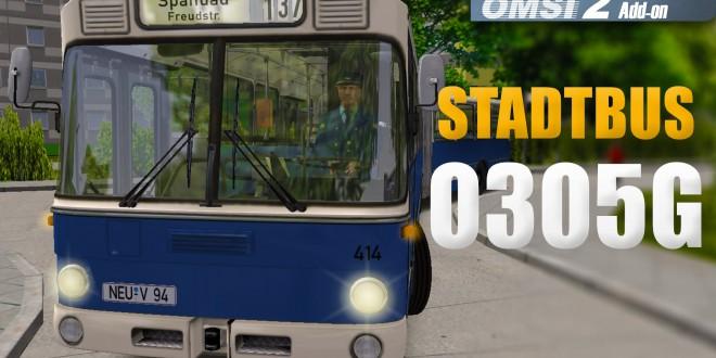 OMSI 2: Stadtbus O305G #3 – Hässliche Denkmalplätze