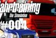 Fahrtraining – die Simulation #004 – Manövrierungsschwierigkeiten auf der Autobahn