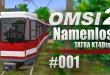 OMSI 2 Straßenbahnmap Namenlos mit der  Tatra KT4Dtm #001 – Mit der Tram durchs Grüne!