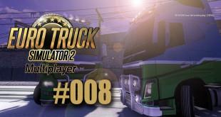 ETS 2 Multiplayer #008 – Zwei Spuren im Schnee (?)