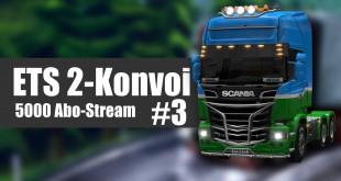 Euro Truck Simulator 2 Mega-Konvoi #3 – Tanken-Treff!