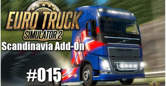 Euro Truck Simulator 2: Scandinavia Add-On #015 – Da macht der Truck nen Wheely