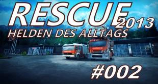 Rescue 2013 #002 – Ein Feuer am Wasser