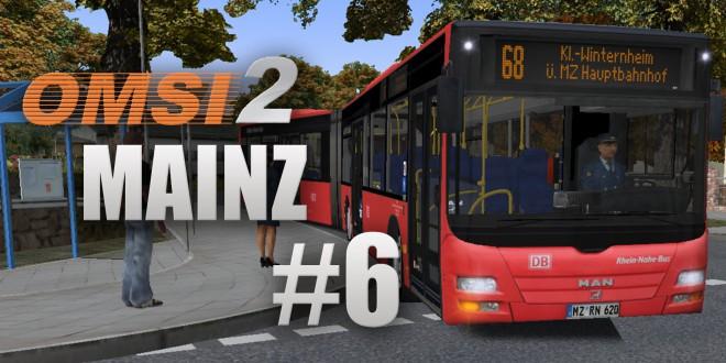 OMSI 2: Mainz mit Linie 68 und dem MAN Lion's City GÜ – Angekommen!