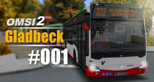 OMSI 2 Projekt Gladbeck 2016 Citaro 2 #001 – Unterwegs mit der 222 in Marl