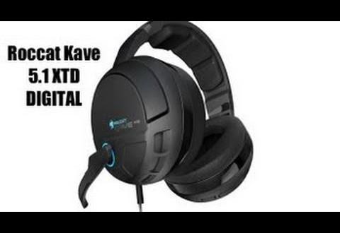 Das Roccat Kave 5.1 XTD Digital – leicht und flexibel!