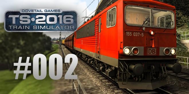 Train Simulator 2016: Mit der Br 155 auf der linken Rheinstrecke #002 – Große Probleme