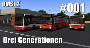 OMSI 2 Drei Generationen – Vom Betriebshof zum ZOB