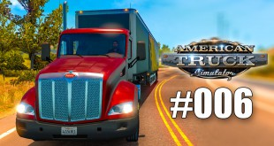 American Truck Simulator #006 – intelligente KI! Gameplay ATS deutsch