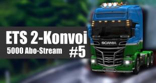Euro Truck Simulator 2 Mega-Konvoi #5 – Alles zu eng in ENGLAND!