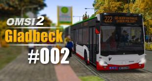 OMSI 2 Projekt Gladbeck 2016 Citaro 2 #002 – Enge Baustelle mit Gelenkbus