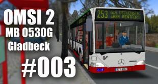 OMSI 2 mit dem Mercedes-Benz O530G durch Gladbeck Linie 253 #003