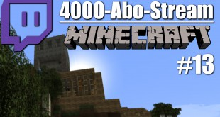 4000-Abo-Stream #013 – Ein weihnachtliches Stream-Ende   Minecraft