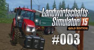 Landwirtschafts-Simulator 15 Gold #003 – Besuch beim Getreidespeicher