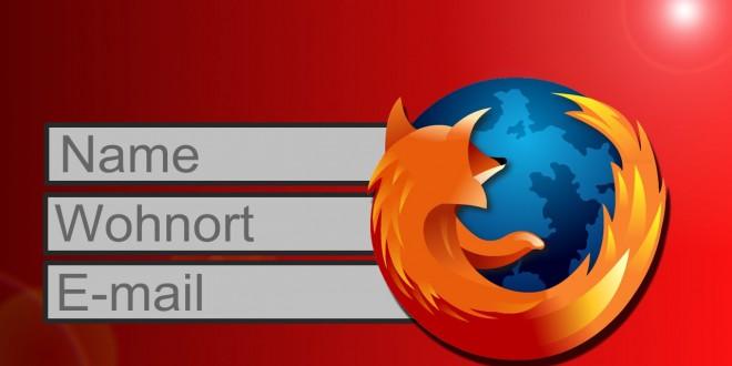 Autofill ändern/löschen – Mozilla Firefox