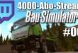4000-Abo-Stream #006 – Baumaschinen-Chaos | Bau-Simulator 2015