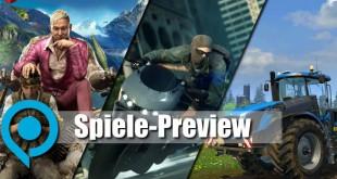 gamescom 2014: Spiele-Preview – spielbare Titel! 1/3 (Ubisoft, Crytek, EA, astragon, Deep Silver)