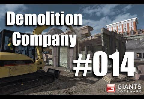 Demolition Company #014 – langwierige Radlader-Action